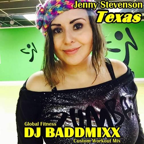 Jenny Came For A 10Min WarmUp. DJ Baddmixx