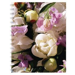 English Accent Sweet Pea Notebook
