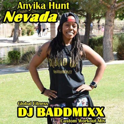 Anyika's 8Min WarmUp 138-156B. DJ Baddmixx