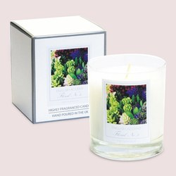 English Accent Hyacinth Scented Candle
