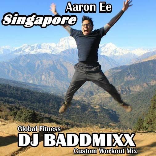 Aaron Came For An 11Min WarmU. DJ Baddmixx