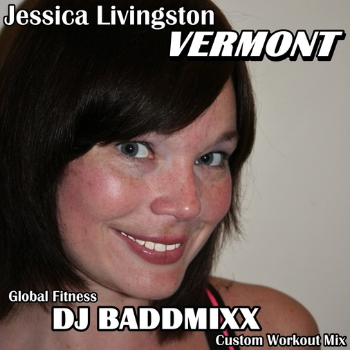 Jessica's 8Mins To Sweat Warm. DJ Baddmixx