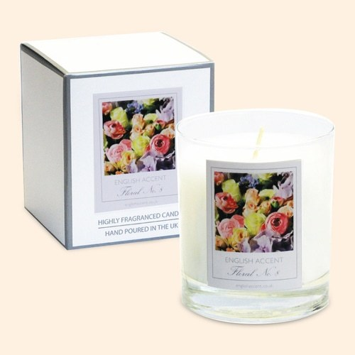 Vanilla Lace Scented Candle - product image