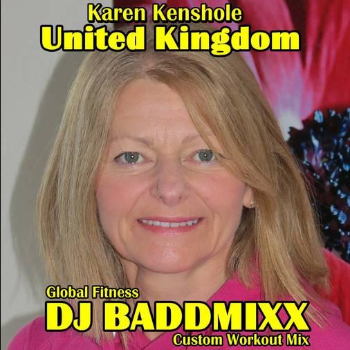 Karen Works A 12Min WarmUp 13. DJ Baddmixx