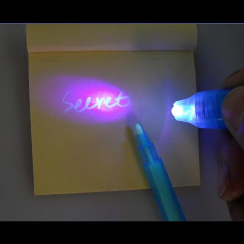 UV Gear UV Secret Pen with Torch cap .