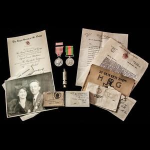 London Medal Company Blog - Eastbourne Blitz George Medal.