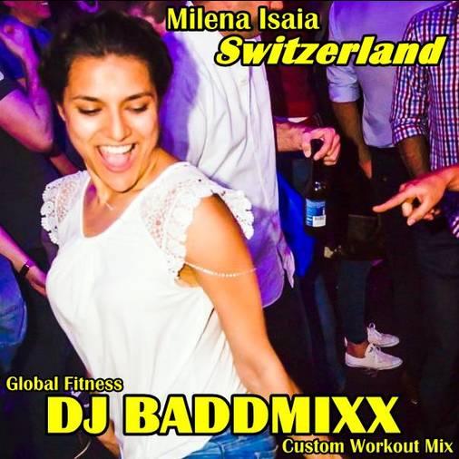 Milena Get Loose 10Min WarmUp. DJ Baddmixx