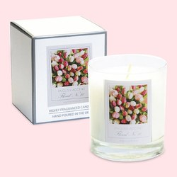 English Accent Pink Pepper Flower Scented Ca.