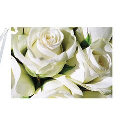 English Accent Rose Gift Card with Ribbon