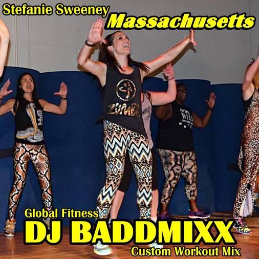 DJ Baddmixx Stefanie Works A 6Min WarmUp .