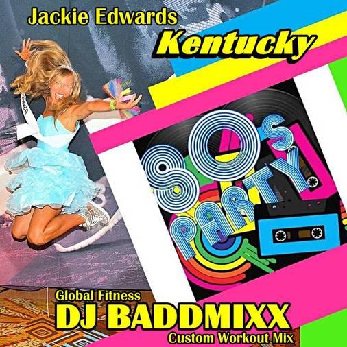 Jackie's 80's 10Min WarmUp 13. DJ Baddmixx