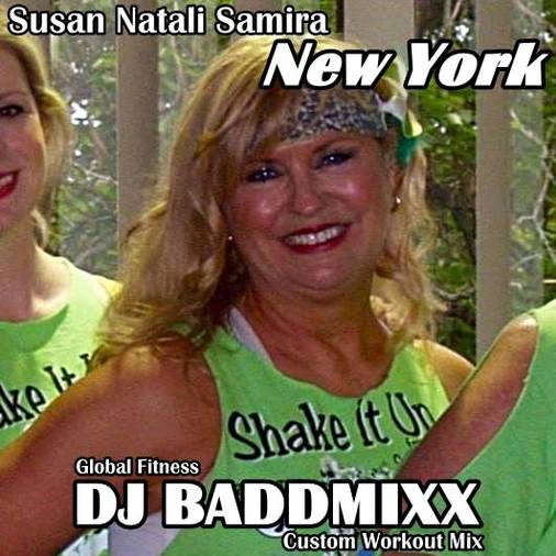 Susan Lights A 7Min WarmUp 13. DJ Baddmixx