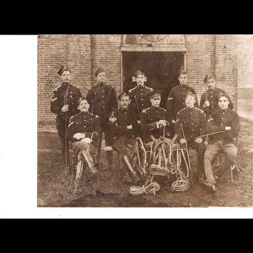 1914 Trio Sqd Sjt Major Frederick Smith 5th Lancers & RAF - product image