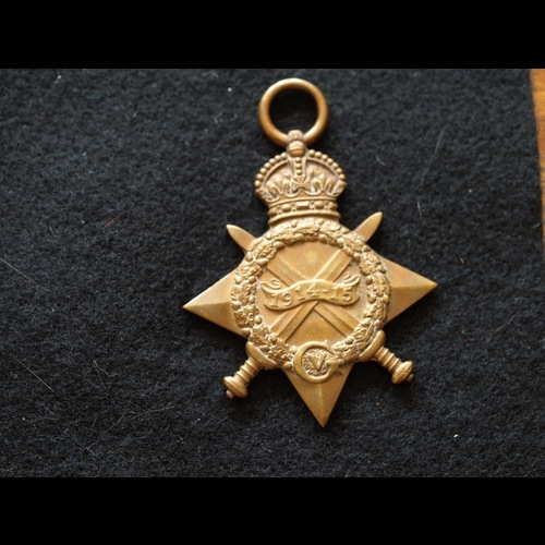 1914/15 Star 2025 Pte White 2nd Northumberland Fus - product image