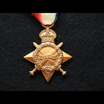 Charlies Medals 1914/15 Star Stoker McNicol R.