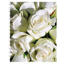 English Accent Rose Notebook