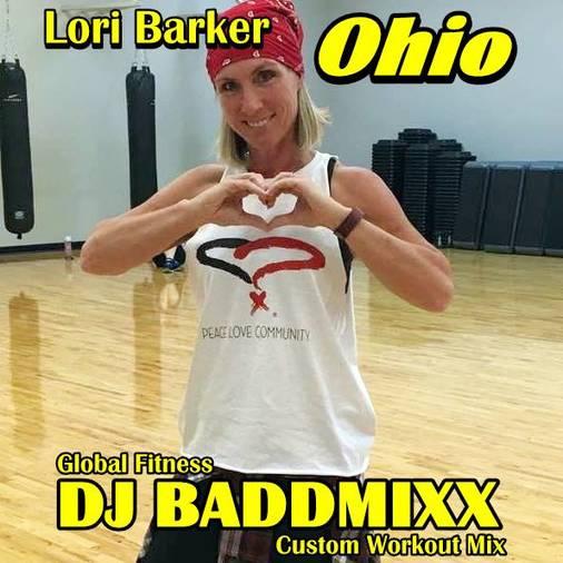 Lori Takes A 9Min WarmUp 128B. DJ Baddmixx