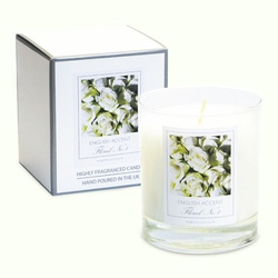 English Accent English Rose Scented Candles .