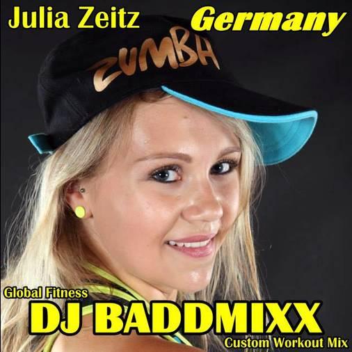Julia Freaks A 7Min WarmUp 13. DJ Baddmixx