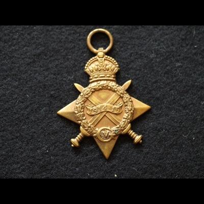 Charlies Medals 1914/15 Star Sgt Bradley 47 B.