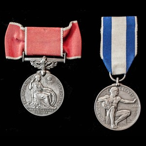 London Medal Company Blog - Rare woman's in action with e.
