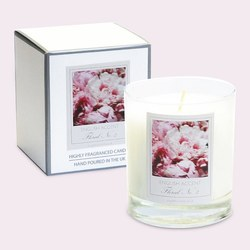 English Accent Peony Scented Candle