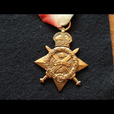 Charlies Medals 1914 Star Gnr Guest 23rd Bde .
