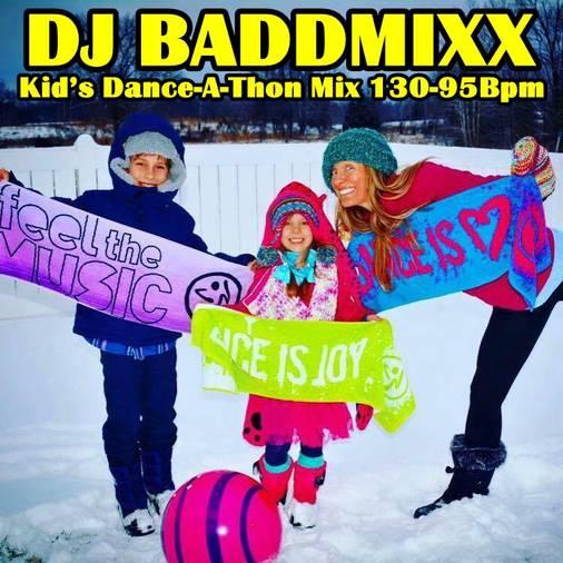 Jackie's 7Min Kid's Dance-A-T. DJ Baddmixx
