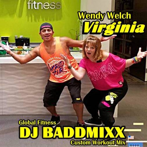 DJ Baddmixx Wendy Don't Stop 8Min WarmUp .