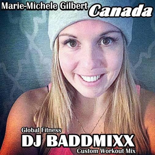 Marie Forms An 8Min WarmUp 13. DJ Baddmixx