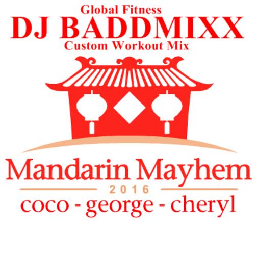 Mandarin Mayhem 9Min WarmUp 1. DJ Baddmixx
