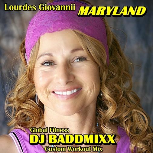 Lourdes 6Min Danza WarmUp 132. DJ Baddmixx